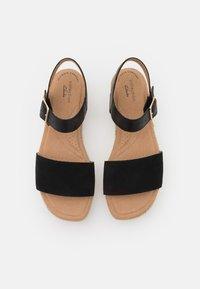 Clarks - LANA SHORE - Platform sandals - black - 5