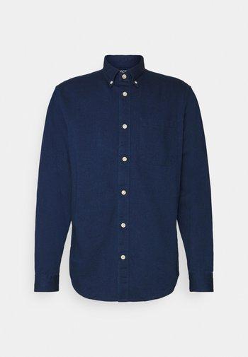 SLHREGRICK - Košile - dark blue denim