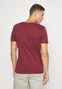 Pier One - T-shirt - bas - bordeaux - 2
