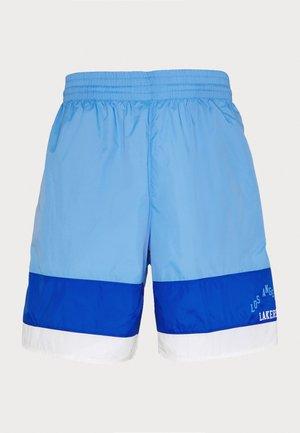NBA LOS ANGELES LAKERS STRIPED SHORT - Krótkie spodenki sportowe - blue