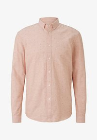 TOM TAILOR DENIM - OXFORD  - Shirt - orange triangle mix - 4