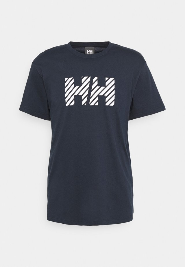 ACTIVE - T-shirt print - navy