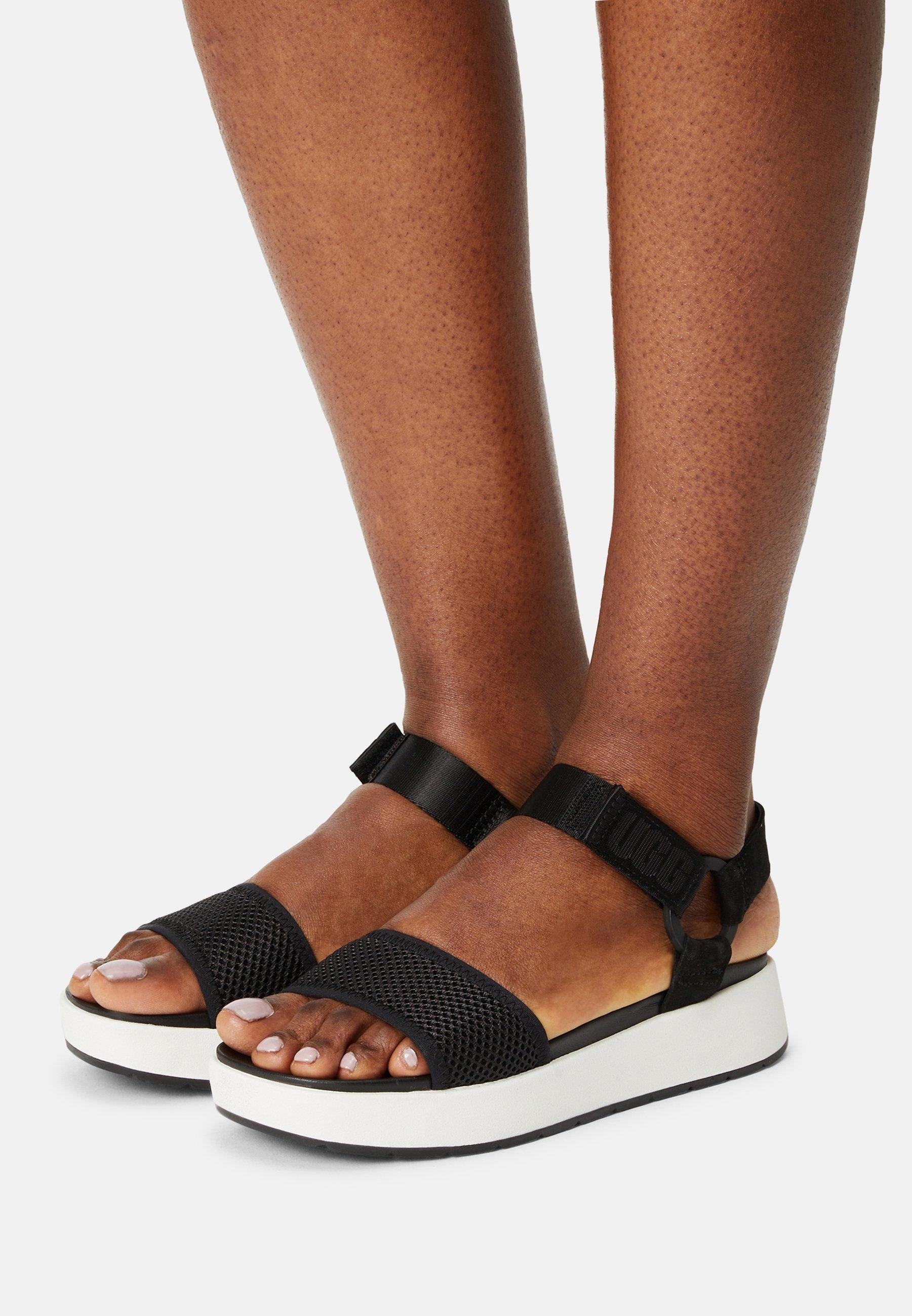 Women AISSA - Platform sandals - black