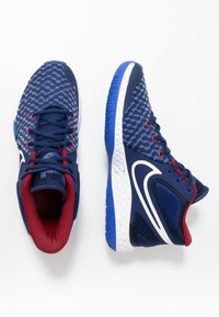 Nike Performance - KD TREY 5 VIII  - Basketball shoes - blue void/white/racer blue/red crush - 1