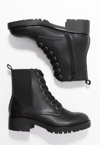 Anna Field - Bottines à lacets - black - 3