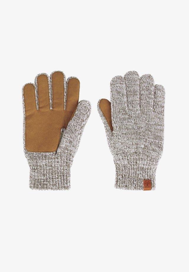 Gloves - grey twist