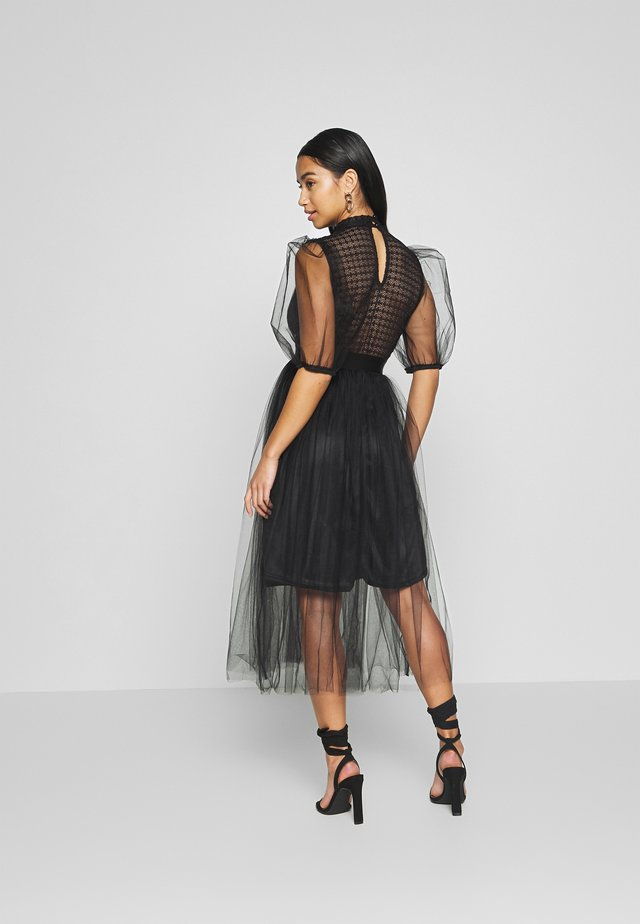 YOKO DRESS - Sukienka koktajlowa - black