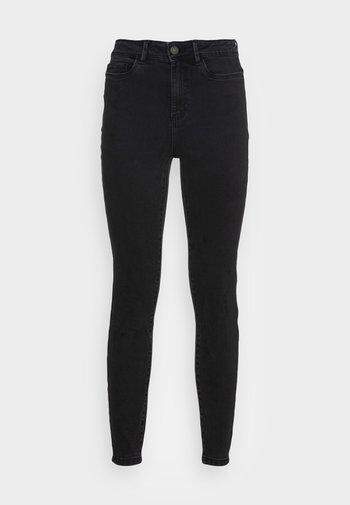 NMAGNES SKINNY - Jeans Skinny Fit - black denim