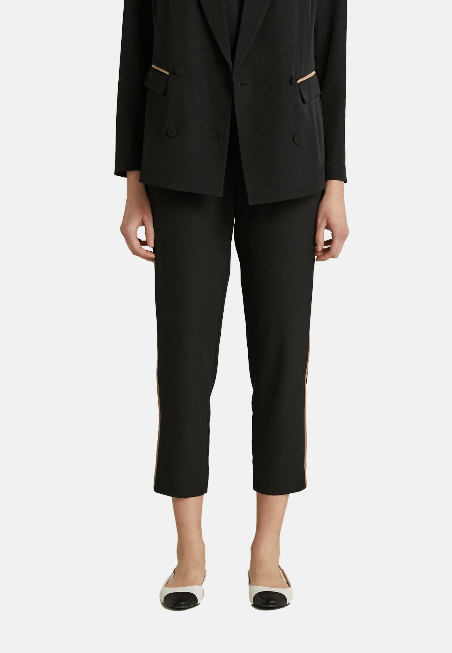 Donna PANTALON DUBAI AVEC PROFILS CONTRASTANTS - Pantaloni