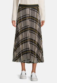Betty & Co - MIT PRINT - A-line skirt - schwarz weiß - 0
