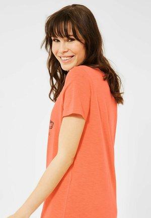 MOTIV - Print T-shirt - orange