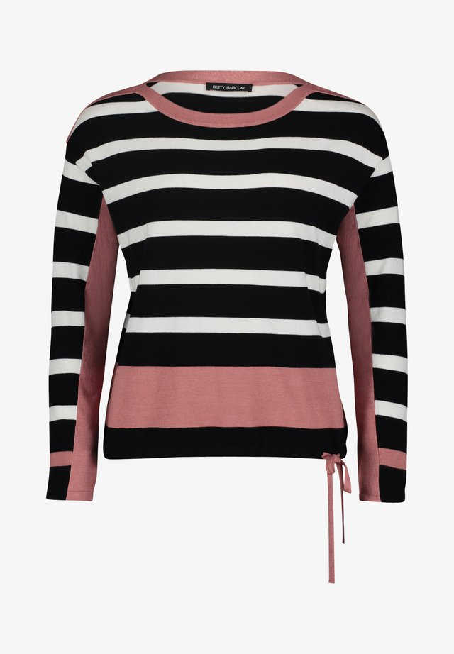 Sweater - black/rosé