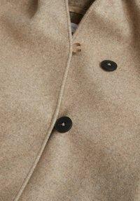 Mango - Krátký kabát - beige - 2