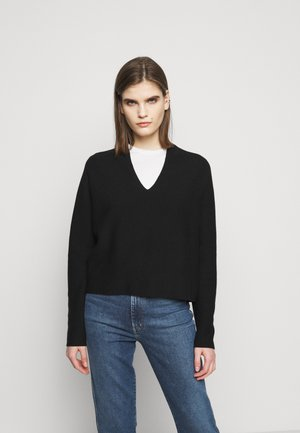 LINNIE - Jumper - black