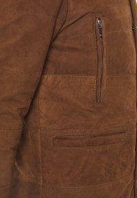 Serge Pariente - FIRENZA - Leather jacket - tobacco - 2