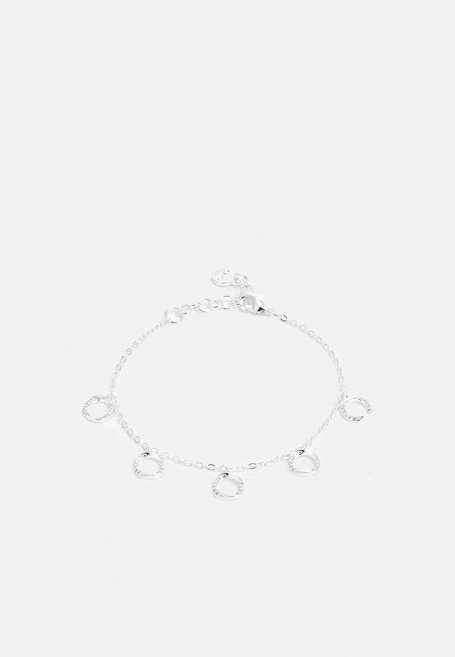 BESSIE CHARM BRACE - Bracelet - silver-coloured