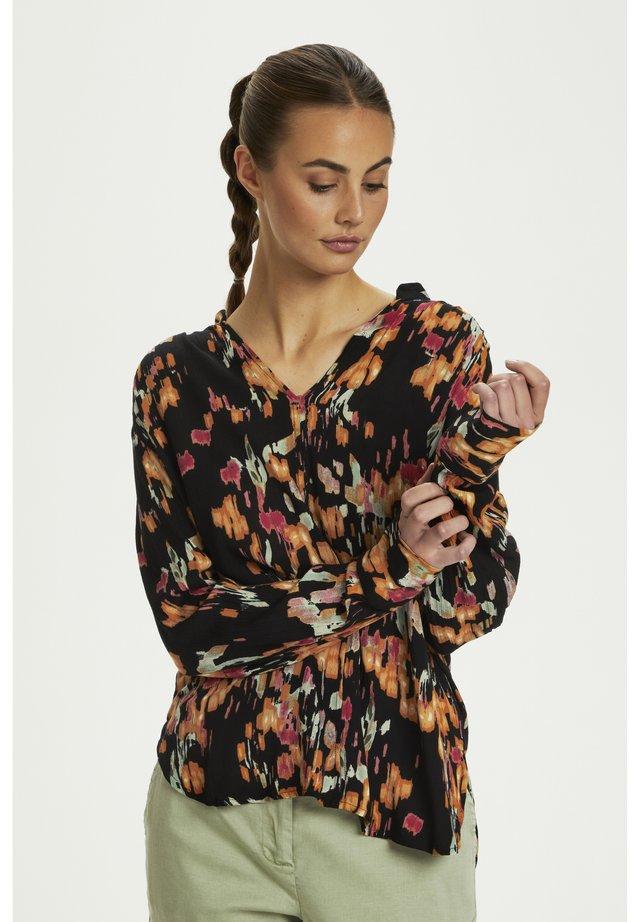 ZAYA BLOUSE - Bluser - dizzy floral print black