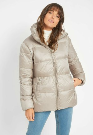 Down jacket - champagner