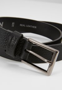 Zign - UNISEX LEATHER - Belt business - black - 2