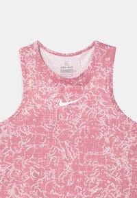 Nike Performance - Débardeur - elemental pink/white - 2