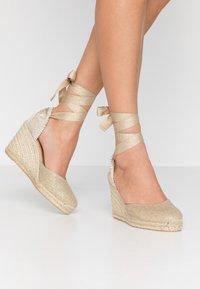 Castañer - CARINA  - High heeled sandals - oro claro - 0