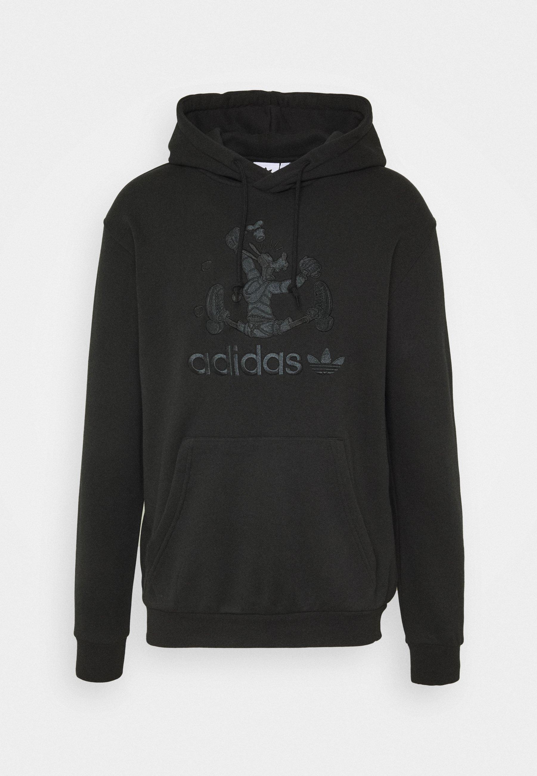adidas Originals GOOFY HOODY - Sweat à capuche - black
