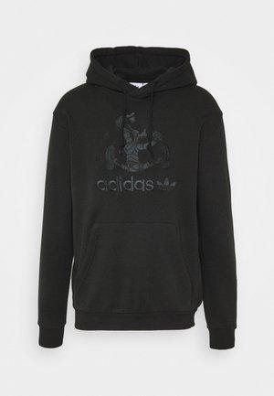 GOOFY HOODY - Bluza z kapturem - black
