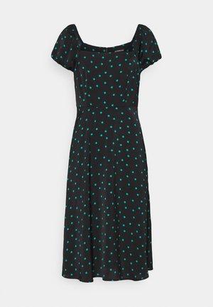Denní šaty - black/green