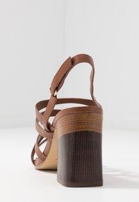 ALDO - DINDILOA - Sandals - cognac - 5