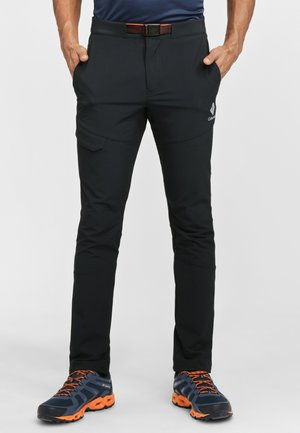 WOVEN  - Pantalon classique - black