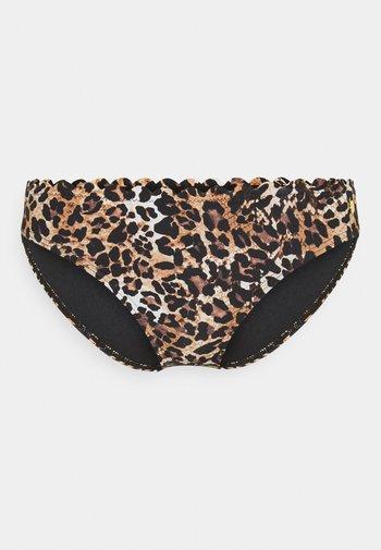 NORMAL - Bikini bottoms - brown