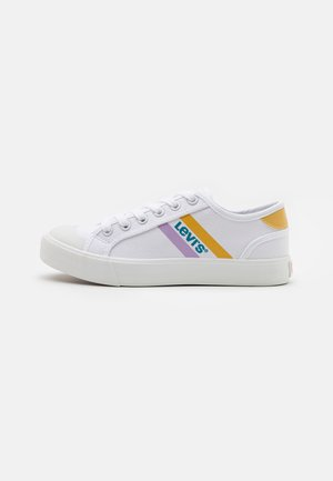 MISSION UNISEX - Sneakers laag - white/yellow