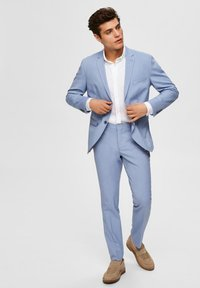 Selected Homme - Suit trousers - colony blue - 3