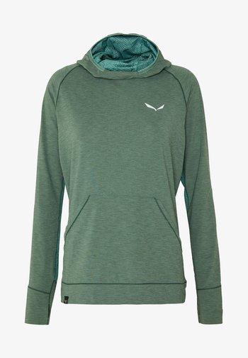 PUEZ MELANGE DRY HDY - T-shirt sportiva - feldspar green melange