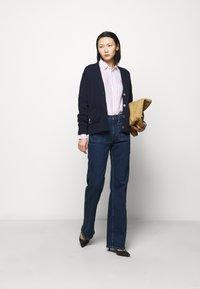 Polo Ralph Lauren - STRIPE LONG SLEEVE - Button-down blouse - white/pink - 1