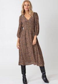 Indiska - ZUDORA - Shirt dress - beige - 1
