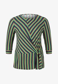 MY TRUE ME TOM TAILOR - MIT KNOTEN-DETAIL - Long sleeved top - multi-coloured - 5