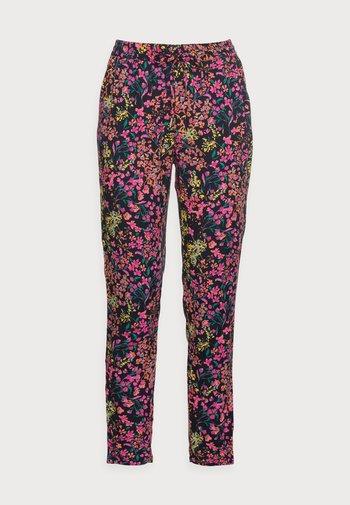 ONLNOVA LIFE PANT - Trousers - dark blue/multi-coloured