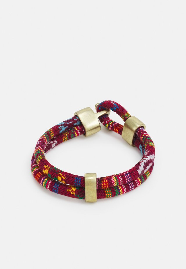 MOUNTAINOUS AZTEC BRACELET - Armband - red