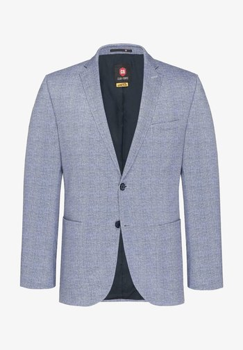 Blazer jacket - blau-meliert