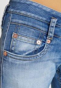 Herrlicher - PITCH SLIM CROPPED - Jeans Slim Fit - navy blue - 5