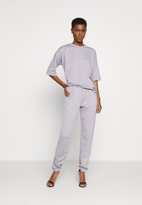 Missguided Tall - EXCLUSIVE SET - Tracksuit - lilac gray - 0