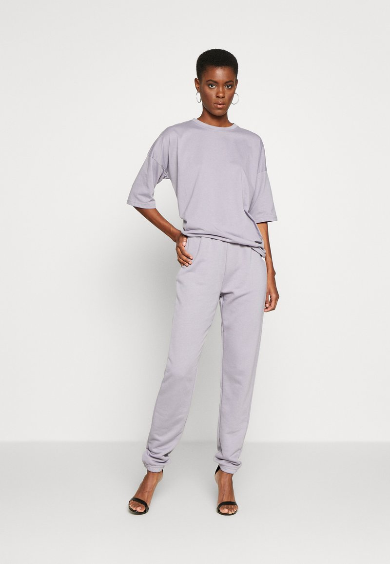 Missguided Tall - EXCLUSIVE SET - Tracksuit - lilac gray