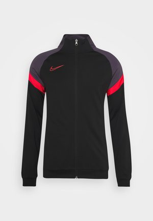 DRY ACADEMY - Training jacket - black/siren red