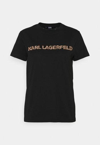 KANDY KRUSH LOGO  - Print T-shirt - black