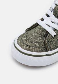 Vans - TD SK8 ZIP - High-top trainers - grape leaf/true white - 5