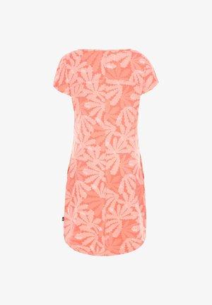"THE NORTH FACE DAMEN KLEID ""LOASIS TEE DRESS"" - Jerseykleid - koralle (511)"