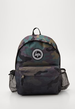 BOTTLE BACKPACK CAMO FADE - Rugzak - black
