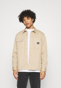 Lee - BOX POCKET OVERSHIRT - Giacca leggera - service sand - 0
