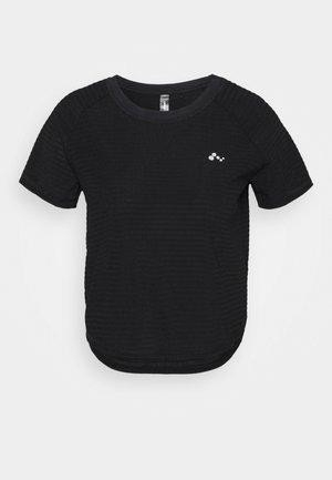 ONPOMELIA TRAINING TEE - Sports shirt - black